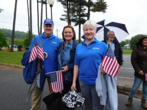 Teachers March at Warren Memorial Day Parade